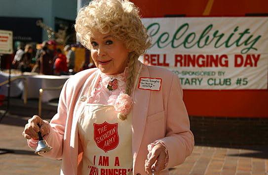 Actress Donna Douglas
