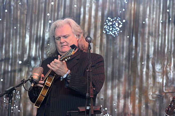 Musician Ricky Skaggs performs