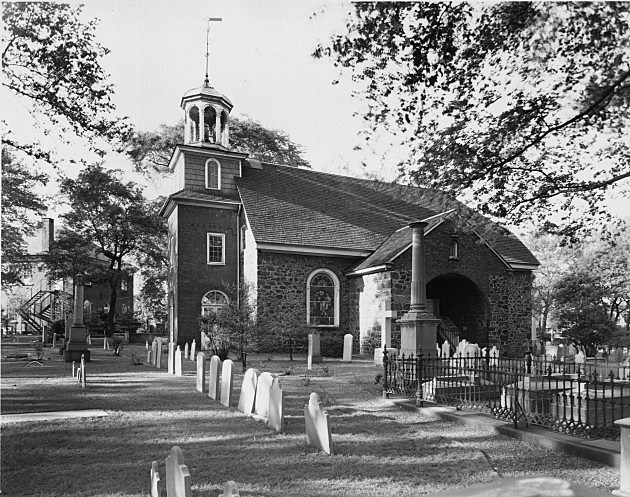 Holy Trinity or 'Old Swedes' Church in Delaware