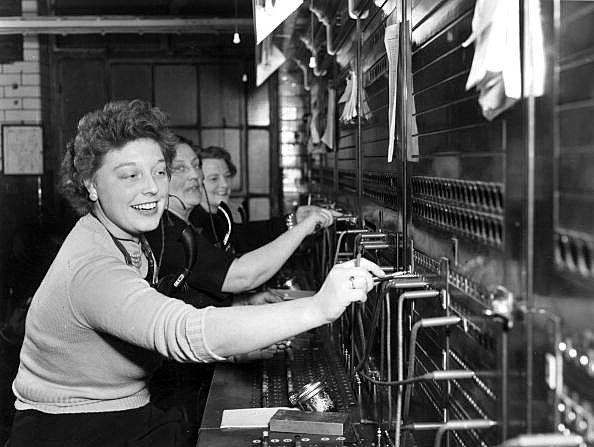 How Did Old Fashioned Switchboards Work