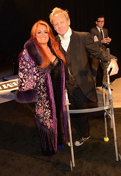 Wynonna Judd and Michael Scott 'Cactus' Moser