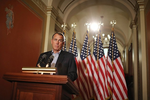 House Leader Boehner Speaks On The Impending Fiscal Cliff