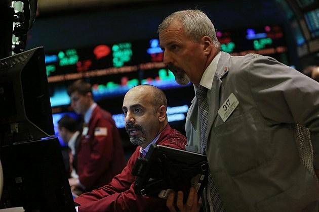 Traders Work On Floor Of NYSE