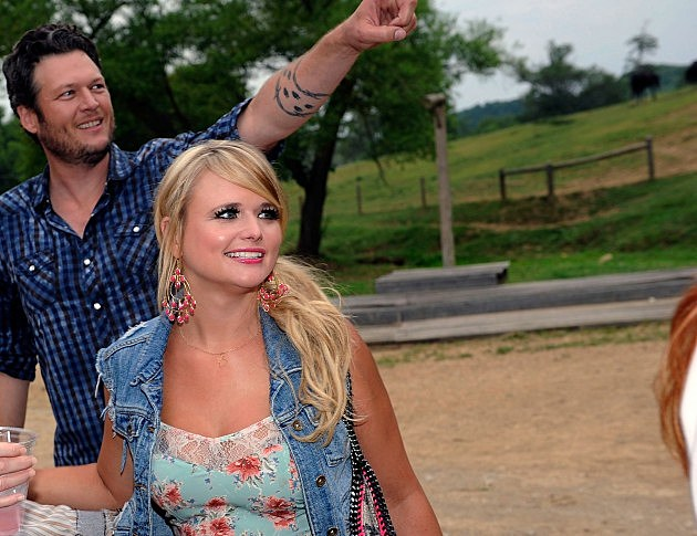 Miranda Lambert & Blake Shelton Celebrate 2 #1 Songs