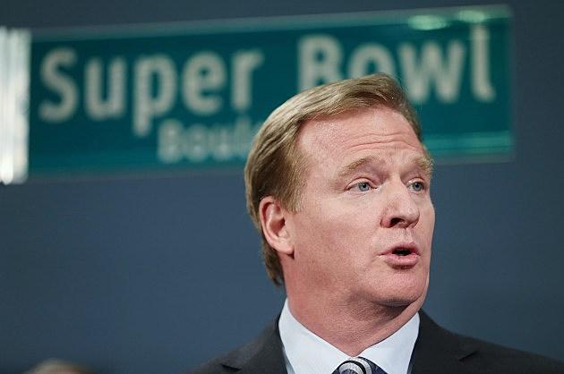 NFL Commissioner Goodell