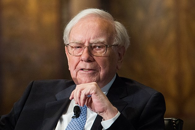Warren Buffett And BofA CEO Brian Moynihan Speak At Georgetown University