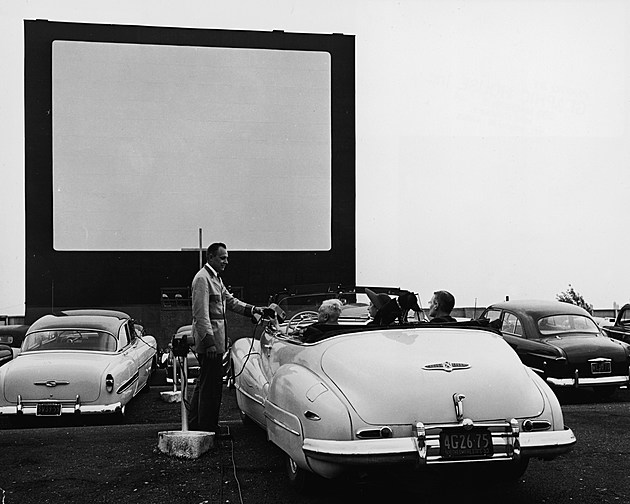 At A Drive-In Theater