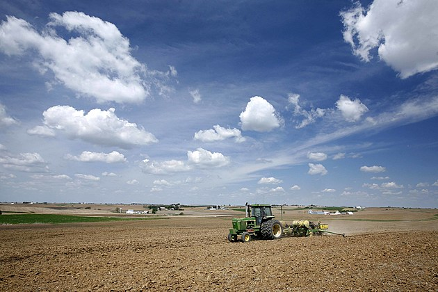 Farmers Plant Corn