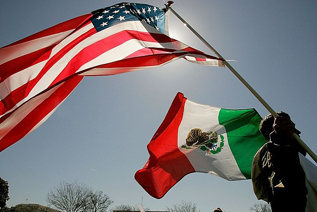 Mexico and U.S.