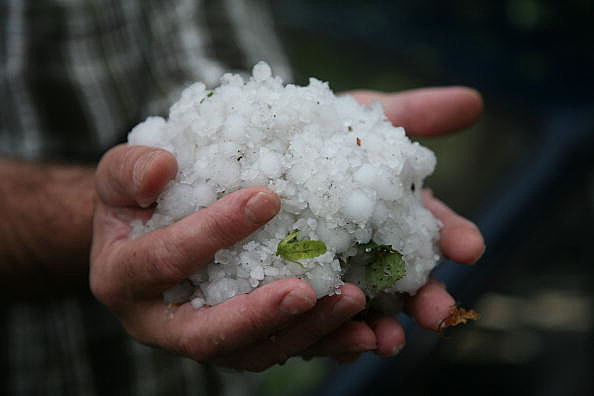 Storm Weather Hits Germany